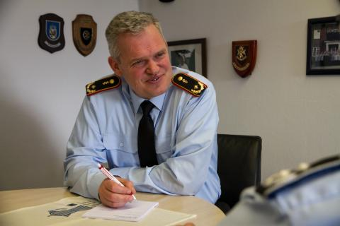 Unser Interviewpartner Generalarzt Dr. Bruno Most