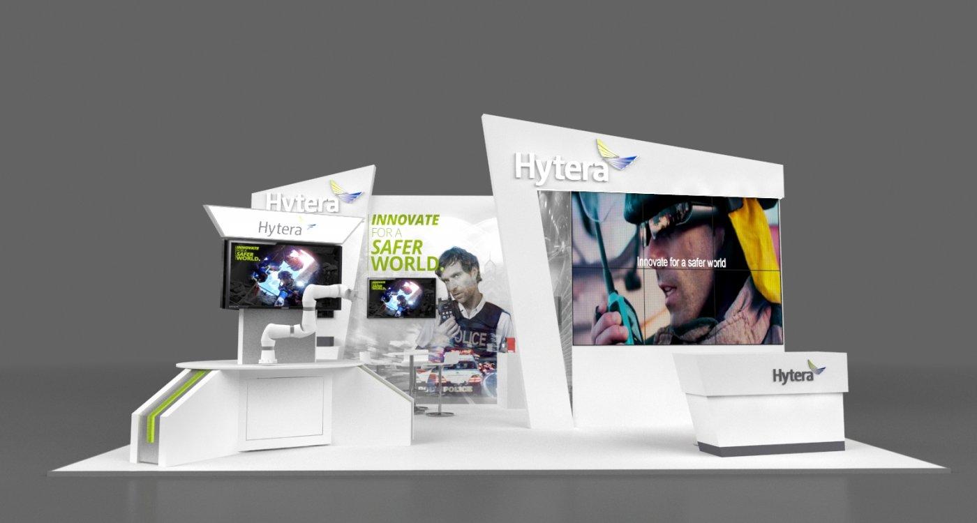 Hytera stellt sich erstmals auf Mobile World Congress in Barcelona